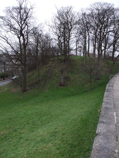 Baile Hill Castle in York