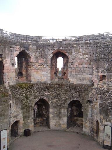 Castles in York: Inside Cliffords Tower