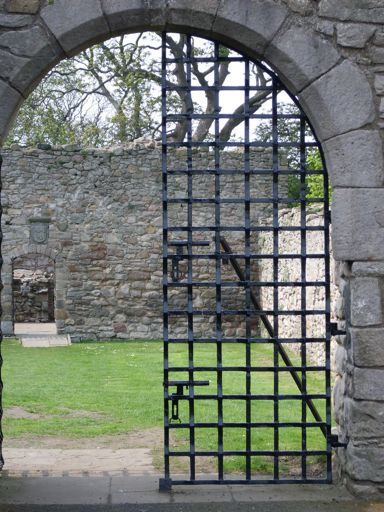 Craigmillar Castle Iron Gate