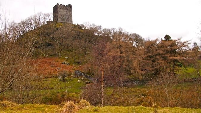 Panorama of Dolwyddelan