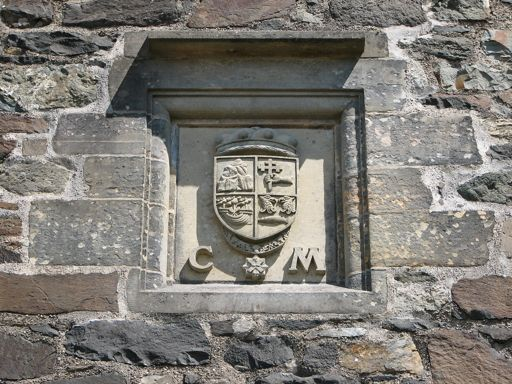 Duart Castle Maclean Clan Arms