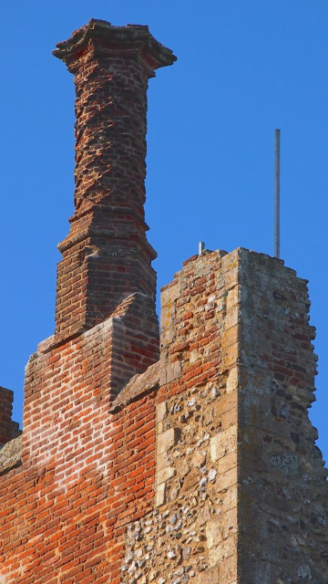 Framlingham Castle Chimneys