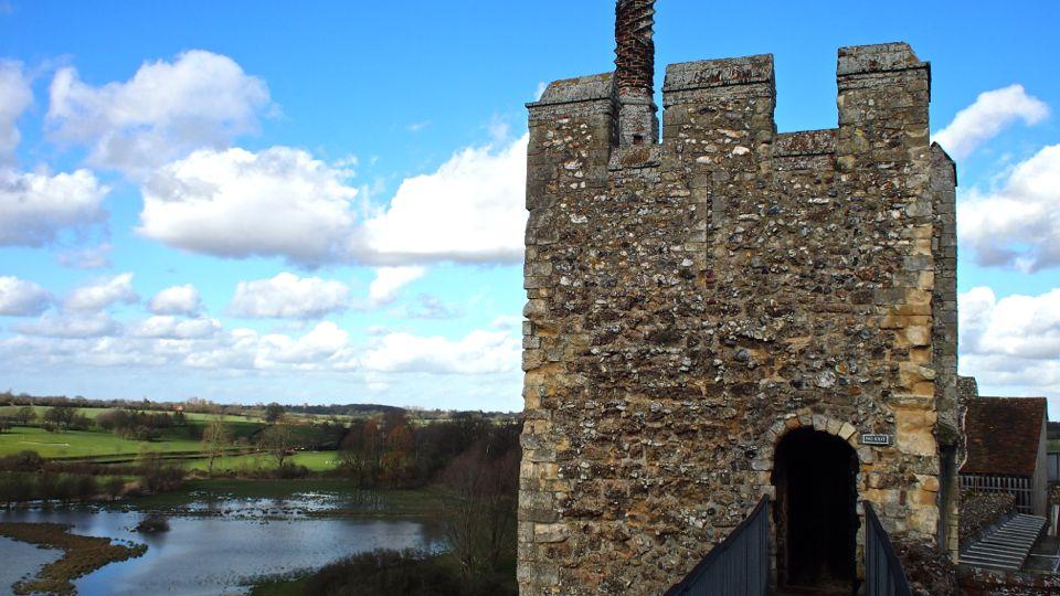 Framlingham Castle View