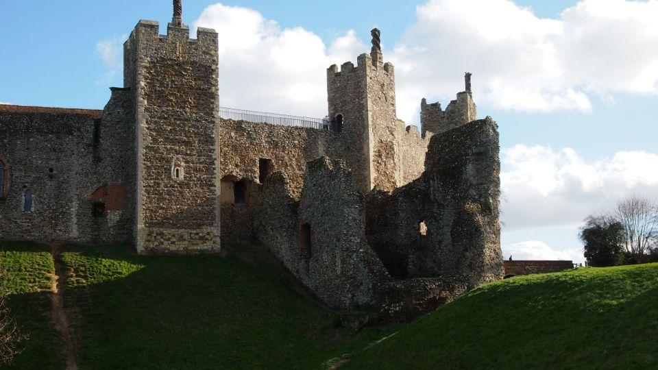 Framlingham Castle Western Tower