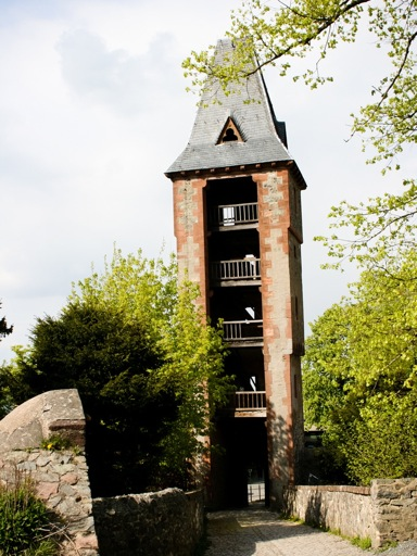 Frankenstein Castle tower