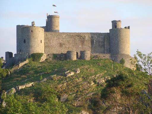 Harlech Concentric Castle