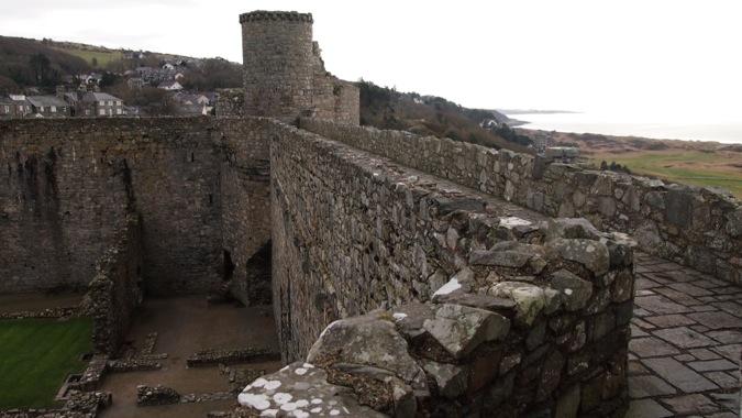 Castle Battlements of Harlech