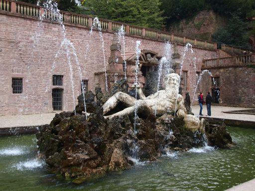 Heidelberg Castle Hortus Palatinus