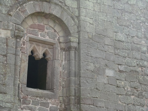 Small Windows in Goodrich Keep
