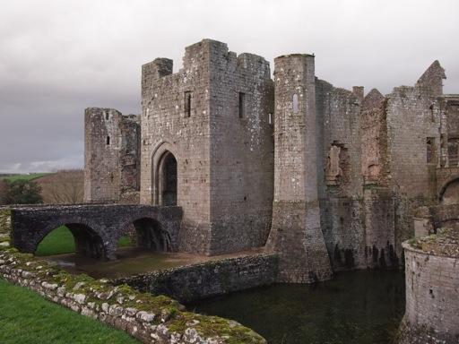 South gate of Raglan