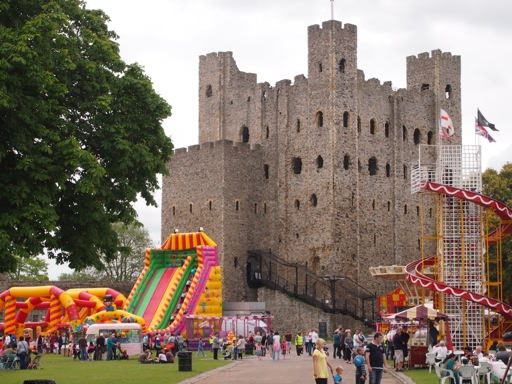 Rochester Castle Fair