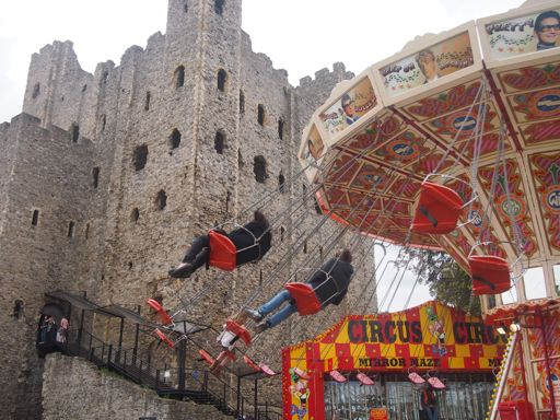 Rochester Castle Swing