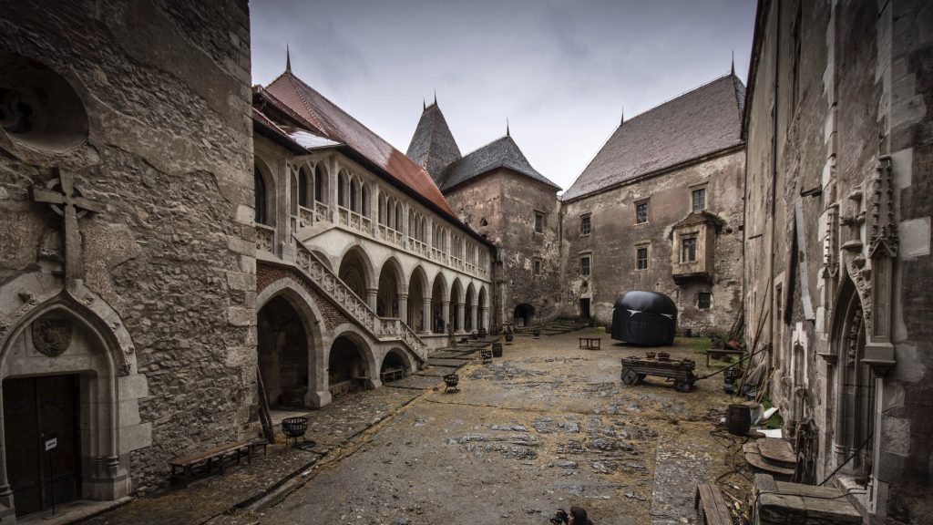 Corvin Castle Courtyard