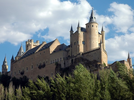 Alcazar, Segovia, Spain.
