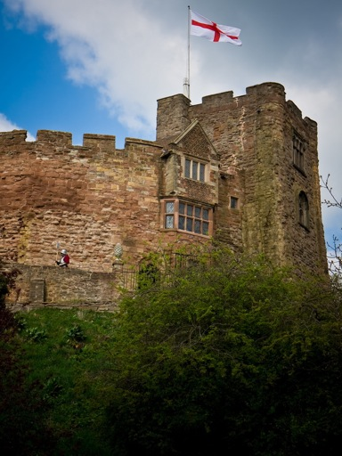 Ghostly Tamworth castle