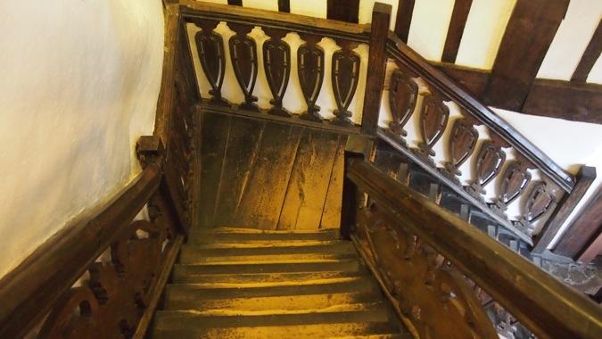 Tamworth Castle Haunted Stairwell