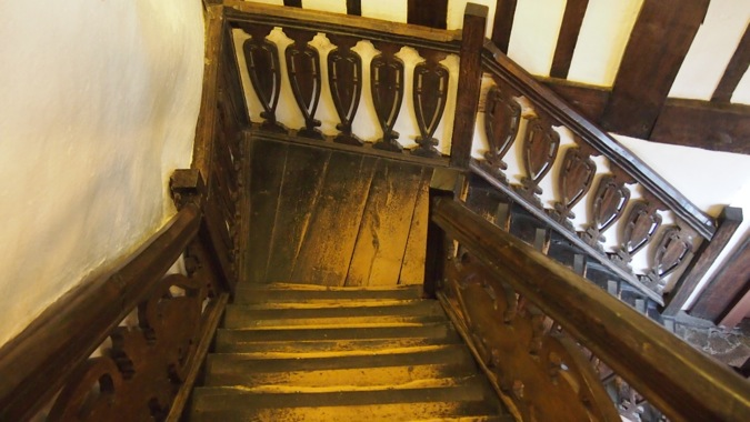 Tamworth Castle Haunted Stairwell