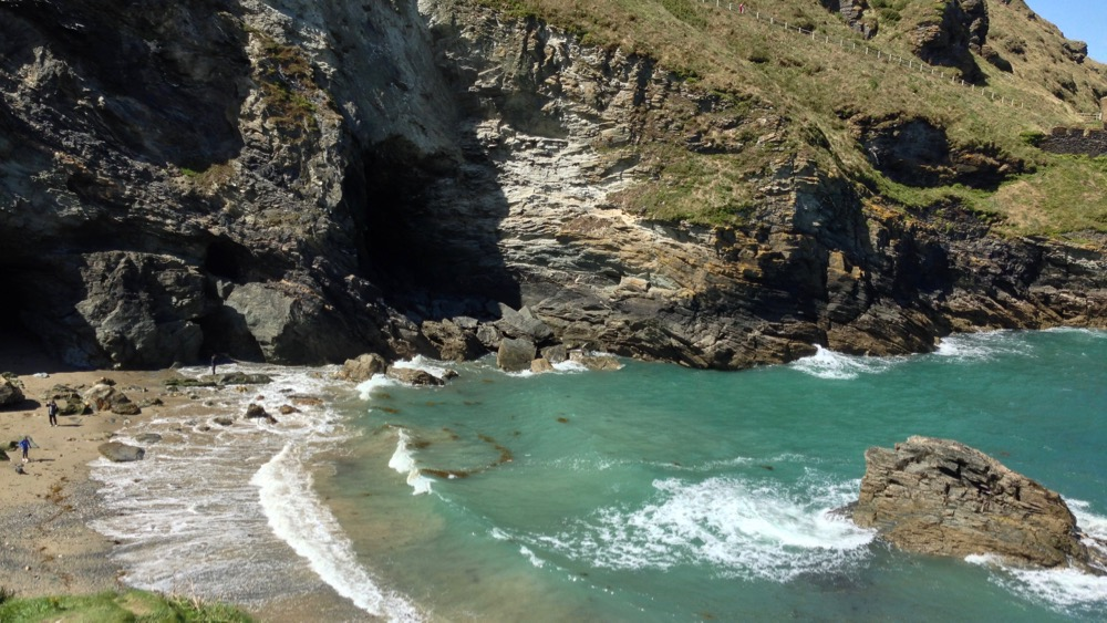 Merlin's Cave, Tintagel Castle