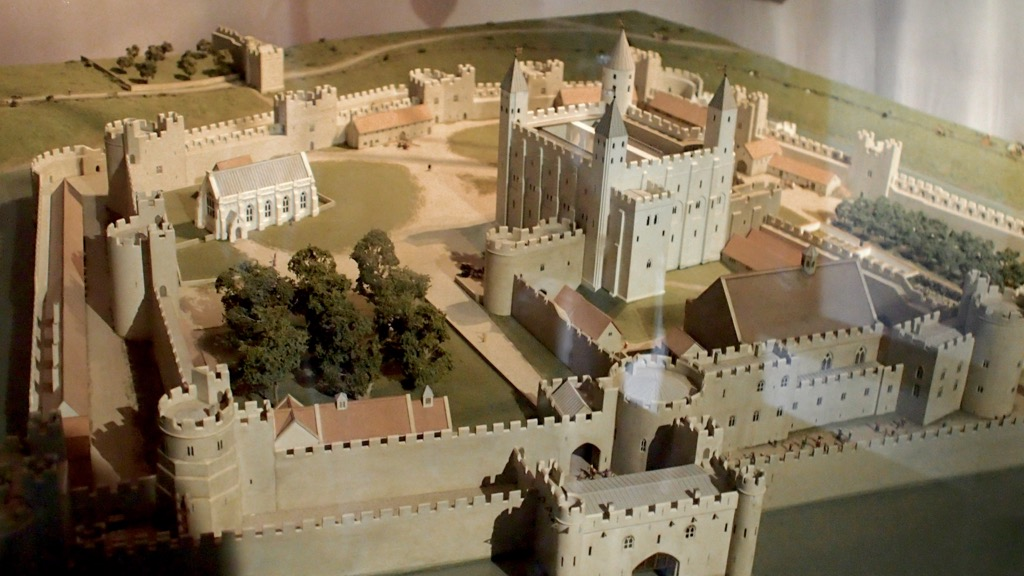 Model of the Tower of London