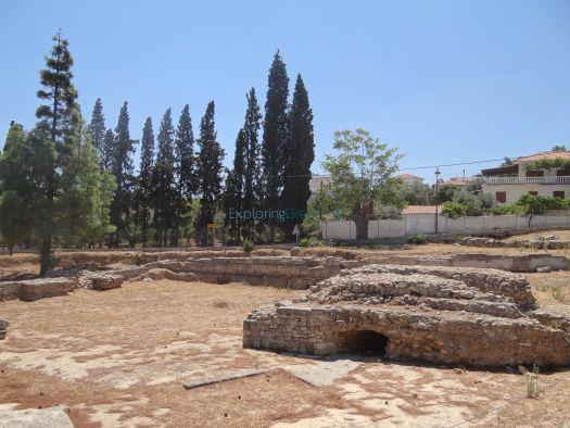 Κορινθία - Ισθμια - Αρχαιολογικός Χώρος - Παλαιμόνιο