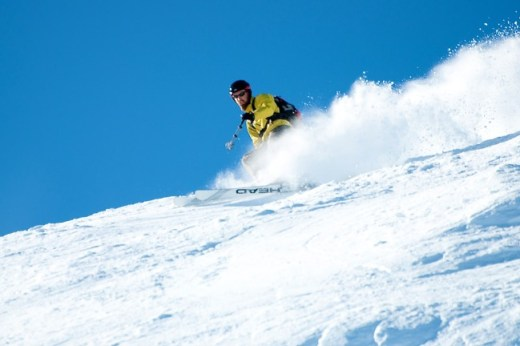 I might have enjoyed the fresh turns as well;) (Photo: Matt Gibson)
