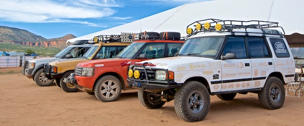 EVENT: Western National Land Rover Rally 2015