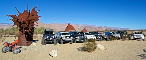 10-20 Adventures Winter Desert Campout
