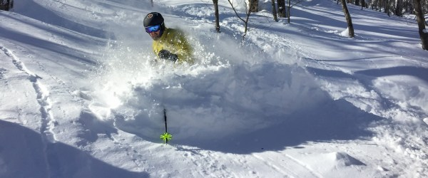 MAKE FRESH TRACKS:  Powder Waits For No One!