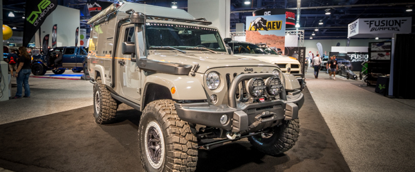 SEMA 2017: The Khaki Revolution