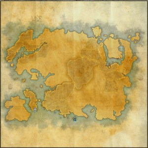 The maps of the Elder Scrolls Online - Tamriel