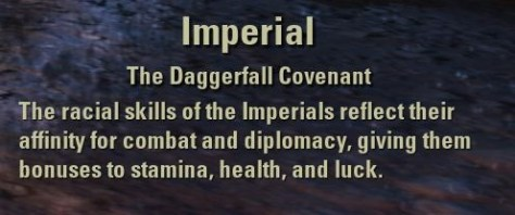 Exploring the Elder Scrolls Online - Imperial Description