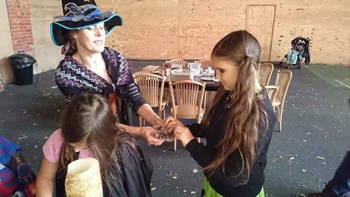 Our day at Powderham Castle's 'Festival of Frights' #DevonBloggerSquad