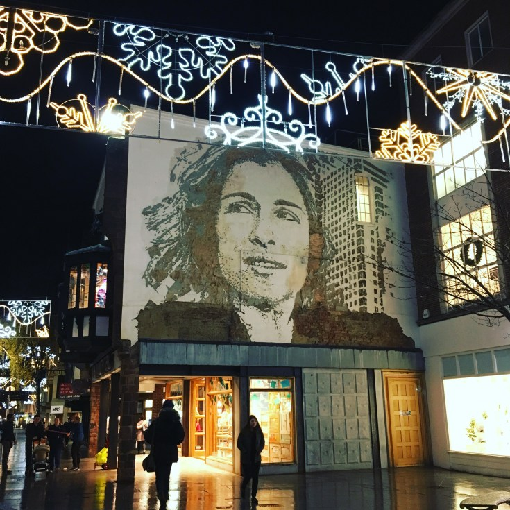 Christmas events in Exeter 2017, picture copyright Stephanie Darkes, Exploring Exeter 2016