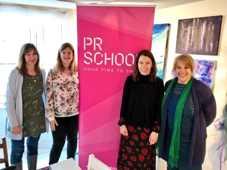 A morning at PR School with Natalie Trice