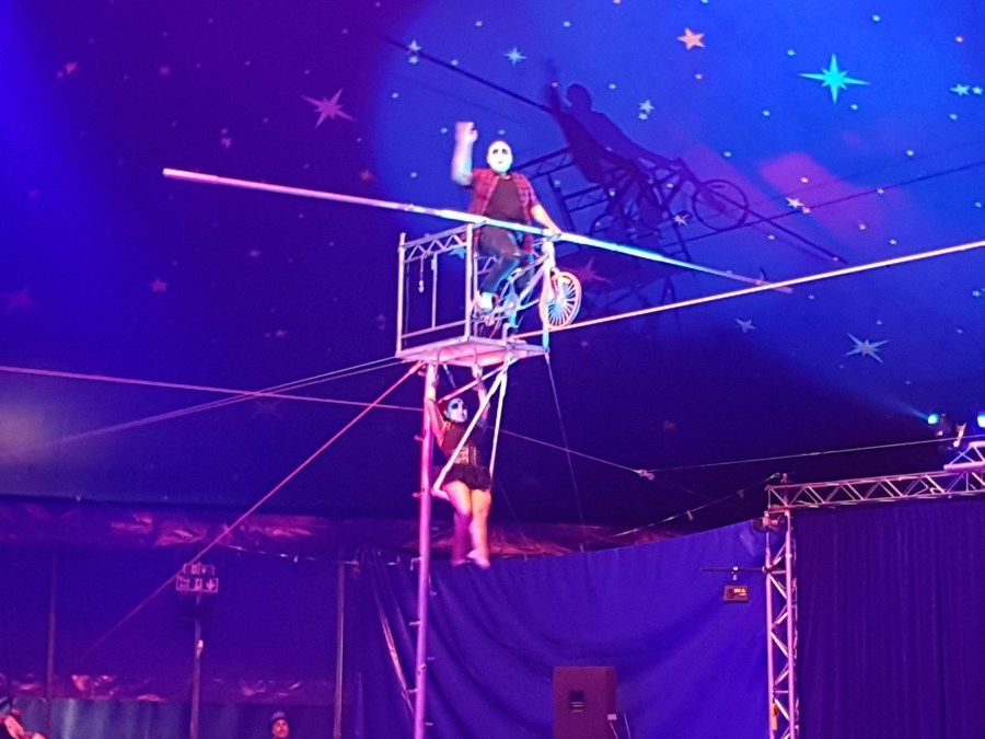 Paulos Circus is Creating Memories in Exeter, Exploring Exeter