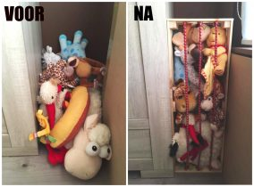 Cindy | IKEA HACK: Knuffels opbergen