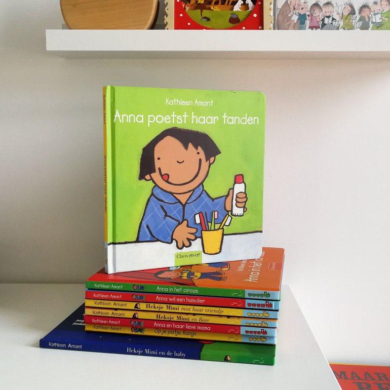 Favoriete boeken van een driejarige