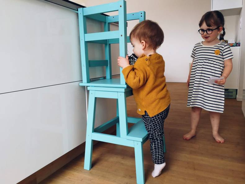 IKEA HACK learning tower