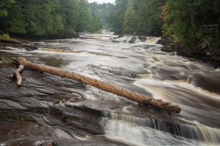Cascades and upper falls