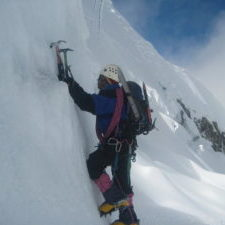 ice climbing cordillera blanca