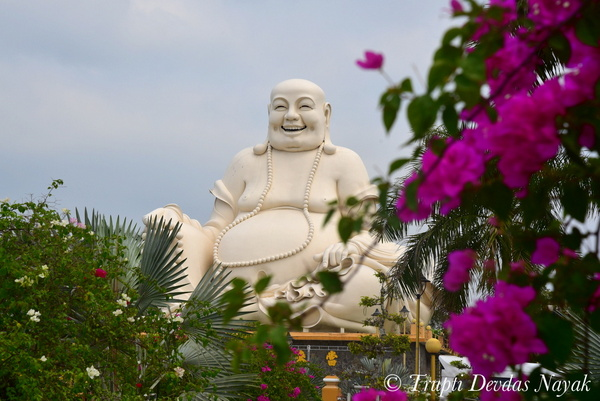 Laughing Buddha Smile