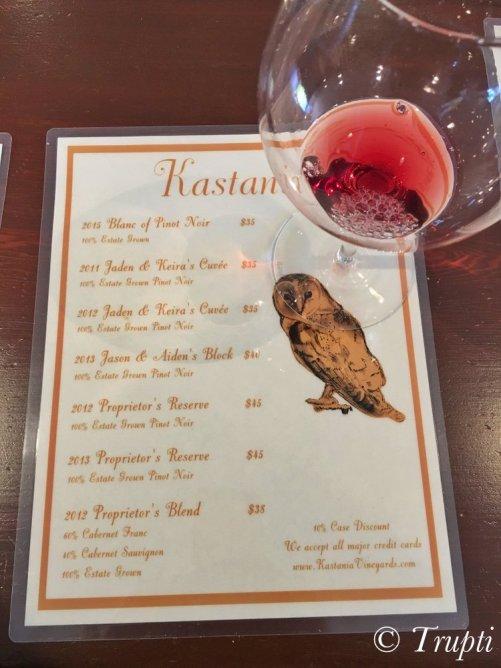 Kastania Winery Petaluma
