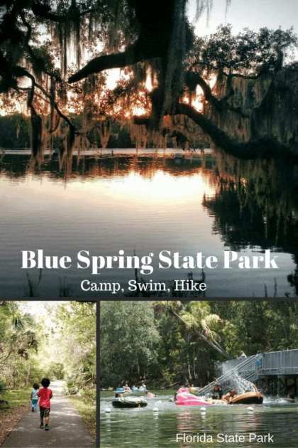 Blue Spring Florida State Park - Camp, Swim, Hike. Perfect family fun on a budget and just north of Orlando! See the real Florida!