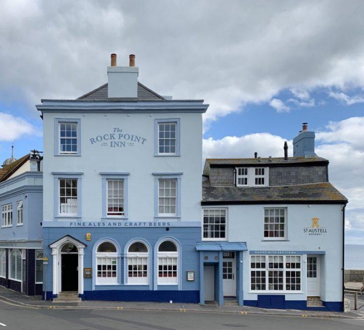 The Rock Point Inn in Lyme Regis