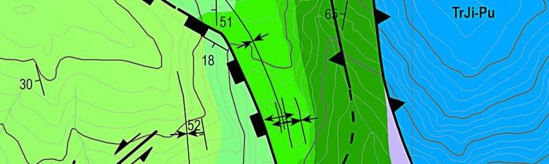 Manejo de cartografia geologica SIG-GIS EXPLOROCK
