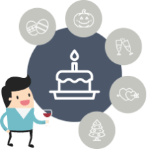 use sms marketing to help your customers celebrate in style