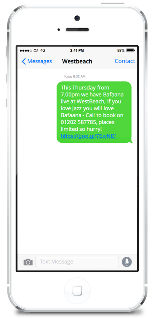 Westbeach SMS