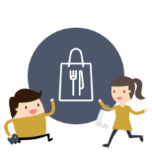 allow your customers to order their takeaways online