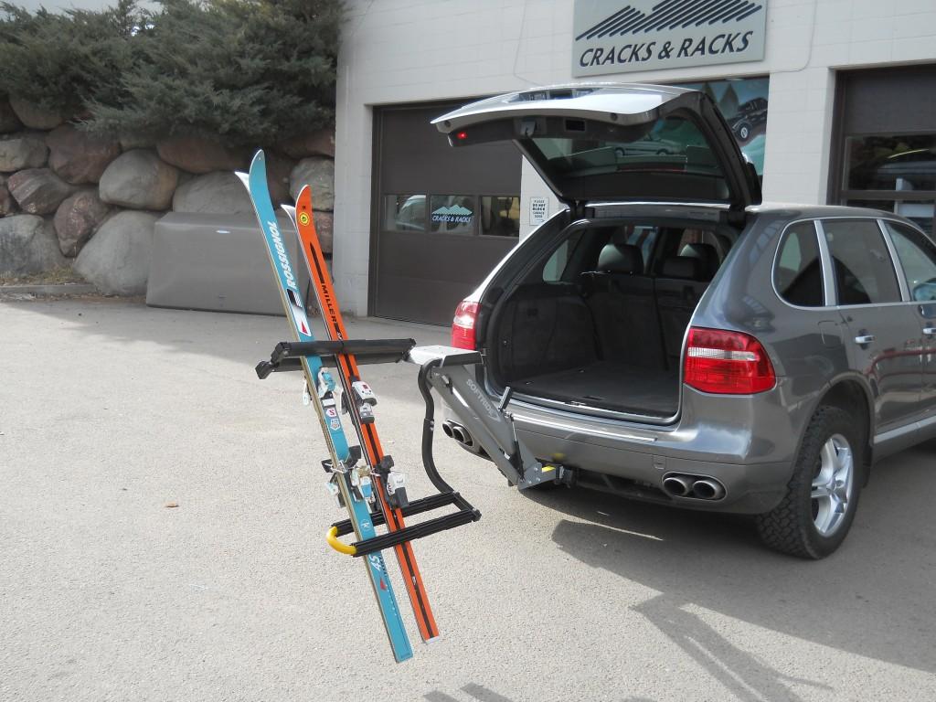snowboard trailer hitch rack