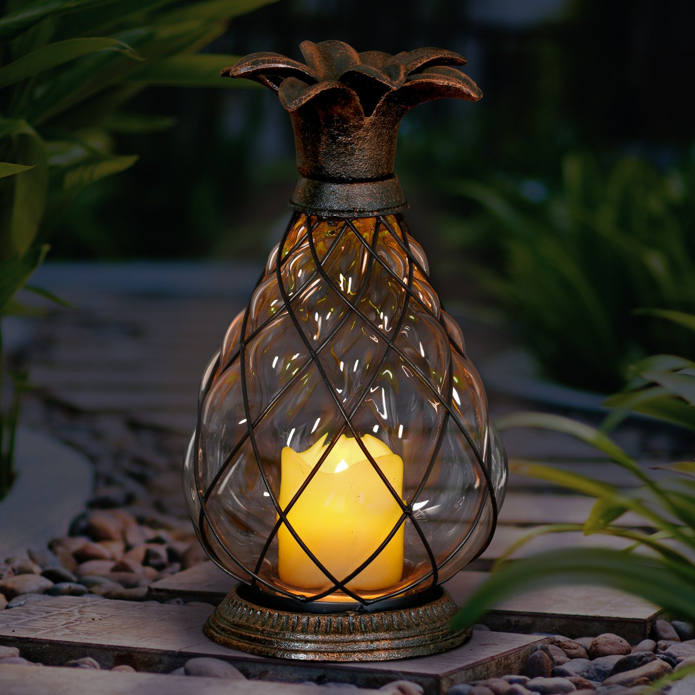 Battery Operated Lanterns With Timer Table Lamps Outdoor Lights Powered Lantern Exterior Hanging Gear String Expocafeperu Com